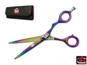 14cm Titanium CUT Brand Pro Hair Cutting Shears Scissors German Steel 2101TC