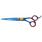 Kissaki Pro Hair Cutting Jigane 15.2cm Blue Titanium Salon Shears Barber Scissors