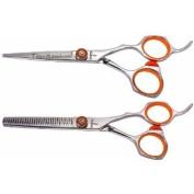 Tsurikomi KT25.4cm & KT10 30 tooth Professional Hair Shears Barber Scissors COMBO