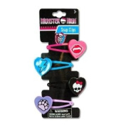 Hair Accessory - Monster High - 4 on Snaps with Plastic Motifs