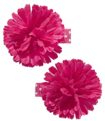 Gimme Clips Poof Flower Hair Clips