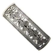 1928 Jewellery Dancing Flowers Vintage Silver Hair Barrette