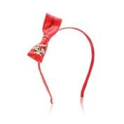 Ed Hardy Love Kills Headband Red Bow Model No. 10038