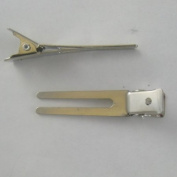 Alligator Hair Clip Double Prong Pinch Clips (25) 21009