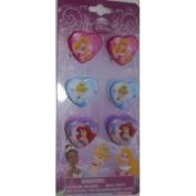 Disney Princess Hair - Heart Clips