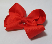 Red 10.2cm Hair Bow