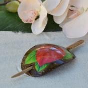 Hawaiian Hair Clip - Anthurium