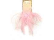 Touch of Nature 40334 Ostrich/Fluffy Clip Embellishment, Light Pink