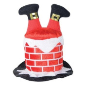Santa Chimney Hair Clip