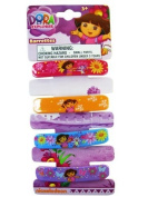 Dora The Explorer 4pc Hair Barrettes - Dora Hair Barrettes - Dora Hair Clips