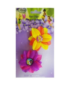Tinkerbell Flower Hair Clips - Disney's Fairies Hair Clips