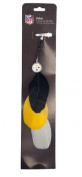 NFL Pittsburgh Steelers Team Colour Feather Hair Clip Extension
