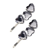 Curlew Crystal Hair Clips