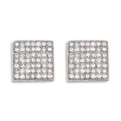 Sassy Clips Solid Square Clips For Your Flips Silver