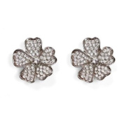 Sassy Clips Flower Petals Clips For Your Flips Silver/Clear