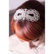 Luxurious Crystal Elegant Beautiful Bridal Infinity Pattern Pin-On Hair Hair Piece