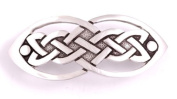 St Justin, Pewter Open Knot Hair-Slide