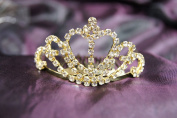 New Beautiful Bridal Wedding Tiara Crown with Crystal Heart DH12109