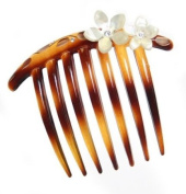 Caravan French Twist Comb Rose and Stone+paint