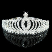 Bridal Wedding Tiara Crystals Rhinestones Crown Promo Party T1031