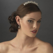 Stunning. Crystal and Pearl Bridal Comb