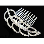 Luxurious Crystal Elegant Beautiful Special Leaf Hair Comb