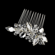 Rachele Marquise Stone. Crystal Wedding Bridal Hair Comb