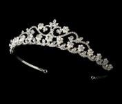 Pearl and Rhinestone Bridal Tiara