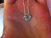 bridal Wedding Jewellery Hair Ornamental Accessories fflowers!5 pins!