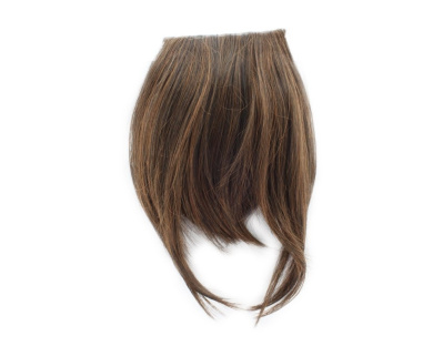 Fashion 1 pcs Cute Clip On Clip In Front Bangs Wig Front Hair Bangs Fringe Hair Extension Light Brown A