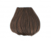 Fashion 1 pcs Cute Clip On Clip In Front Bangs Wig Front Hair Bangs Fringe Hair Extension Light Brown B