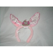 Pink Bunny Ears Costume Accessory Headband ~ Fabric Inside Ears Varies