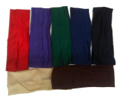 Headband Stretch Nylon Fabric Assorted Colours