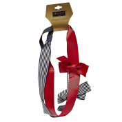 DCNL Grosgrain Ribbon Bow Headwraps