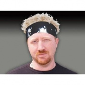 FlairHair Bandana Skull Crossbones w/ Blonde Hair
