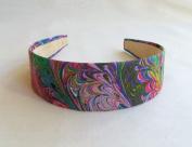 Fun Feather Purple Headband,Made in America.