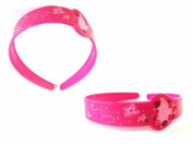 Disney Princess Pink Plastic Headband - Disney Princess Headband - Princess Hair Accessories