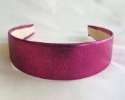Fuchsia Metallic Headband