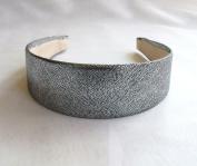 Silver Metallic Headband