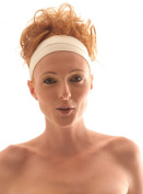 CREAM Stretch Microfiber Headband, Beauty, Fitness, All Head Sizes, for Any Activity, They Are comfortable, . , fine and absorptive. Hight quality of material. Very pleasant to touch. Head Band, Sweat Band, Sweatband