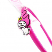 "Headband child ""My Melody"" pink fuchsia."