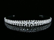 Bridal Rhinestone Crystal Prom Wedding Tiara Headband