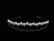 Bridal Vines Rhinestone Crystal Wedding Tiara Headband