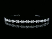 Elegant Bridal Rhinestone Crystal Wedding Tiara Headband