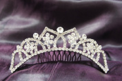 Beautiful Bridal Wedding Tiara Crown with Crystal Party Accessories C15731