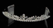 Jessica Crystal Tiara for Pagent, Prom, Wedding or Quinceañera
