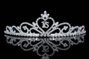 Sweet 16 Pageant Heart Birthday Party Rhinestones Crystal Tiara Crown