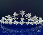 SparklyCrystal Bridal Wedding Crystal Tiara 72757