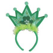 Beistle 30776 Shamrock Tiara Headband - Pack of 12
