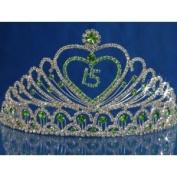 Quinceanera 15 Birthday Tiara Crystal Princess 542F7